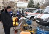Осмотр техники Заместителем Председателя Совета министров РК Игорем Михайличенко