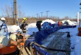 Расстановка оборудования ЛАРН для сбора нефтепродукта